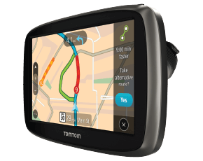 Always on time with TomTom VIA and GO