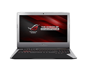 Portable Republic of Gamers G752 d'ASUS – Aperçu