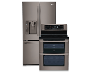 LG Black Stainless Steel Series Appliances Overview