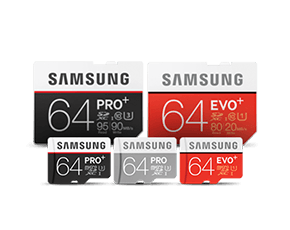 Samsung SD and MicroSD Memory Cards Overview