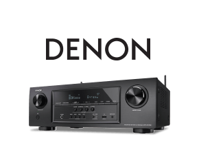 Denon Recievers with the sweet sights and sounds of movies, music, and more
