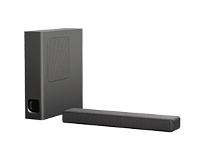 Aperçu de la barre de son Mini de Sony