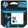 HP 56 Black Ink (C6656AC140)