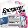 Energizer E2 EL123BP2 3V 2-Pack Lithium Battery