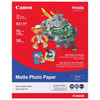 "Canon 8.5"" x 11"" Matte Photo Paper (MP-101) - 50 Sheets"