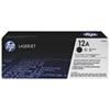 Cartouche de poudre d'encre noire LaserJet 12A de HP (Q2612A)