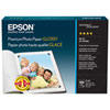 "Epson 100-Sheets 4"" x 6"" Premium Glossy Photo Paper"