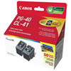 Canon PG-40/CL-41 Black/Colour Ink (0615B010) - 2 Pack