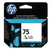 Cartouche d'encre trois couleurs 75 de HP (CB337WC140)