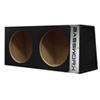 "Bassworx Sealed Box for 10"" Dual Subwoofers (CS210B)"