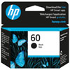 HP 60 Black Ink (CC640WN#140)