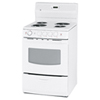 GE 3.0 Cu. Ft. Easy Clean Electric Coil Top Range (JCAS730MWW) - White