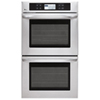 """LG 29.8"""" 2 x 4.7 Cu. Ft. Self-Clean Electric Double Wall Oven (LWD3081ST) - Stainless Steel"""