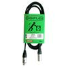 Câble de 10 pi pour microphone Tourflex de Digiflex (N10-XX)