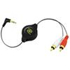 ReTrak Retractable MP3 Audio Cable