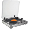 Audio-Technica LP60-USB Fully Automatic Belt-Drive Stereo Turntable with USB Port - Silver
