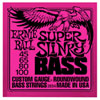 Ernie Ball Super Slinky (45-100 Pink Nickel) - Bass