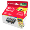 Canon PGI-220/CLI-221 Photo Value Pack - 5 Pack