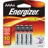 "Energizer Max ""AAA"" Batteries - 4 Pack"