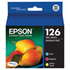 Epson T126 Colour Ink (T126520-S) - 3 Pack