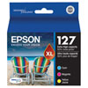 Epson T127 XL Colour Ink (T127520) - 3 Pack
