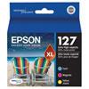 Cartouche d'encre couleur T127 XL d'Epson (T127520) - Paquet de 3