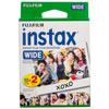 Film à développement instantané pour Instax Wide de Fujifilm - Paquet de 2