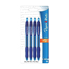 Paper Mate 4-Pack Ballpoint Pen (89472) - Blue