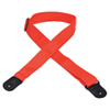 Sangle de guitare de 5 cm en polypropène de Levy (M8POLY) - Rouge