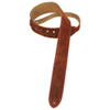 "Levy's 2"" Suede Guitar Strap (MS12-BRN) - Brown"