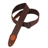 "Levy's 2"" SignatureSeries Cotton Guitar Strap (MSSC8-BRN) - Brown"