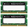 Mémoire SODIMM DDR3 deux canaux de 8 Go (2 x 4 Go) 1333 MHz de Corsair pour Mac (CMSA8GX3M2A1333C9)