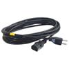 Câble d'alimentation universel de 15 pi de Cables To Go