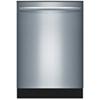 "Bosch 24"" 50 dB Tall Tub Built-In Dishwasher (SHX3AR75UC) - Stainless Steel"