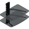 TygerClaw Double Layer Entertainment Shelf - Black