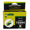 Cartouche d'encre jaune Epson T099 d'Ink For Dummies (DE-T0994)