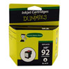 Ink For Dummies HP 92 Black Ink (DH-92)