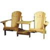 Chaise de patio traditionnelle Adirondack - Pin blanc
