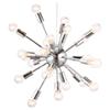 Zuo Modern Pulsar Ceiling Lamp - Silver