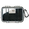 Étui Micro 1020 de Pelican - Noir transparent