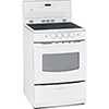 GE 3.0 Cu. Ft. Self-Clean Smooth-Top Electric Range (JCAP760WMWW) - White