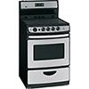 Cuisinière à surface lisse à nettoyage facile de 3,0 pi3 de GE (JCAS745MSS) - Acier inoxydable