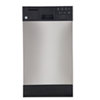 """GE 18"""" Tall Tub Built-In Dishwasher with Stainless Steel Tub (GSM1860VSS) - Stainless Steel"""