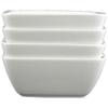 "Tannex White Tie 6"" Casablanca Deep Bowl - Set of 4 - White"