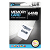 KMD 64MB Memory Card for Gamecube - White