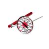 Thermomètre à lecture instantanée avec étui de protection de Norpro (5980) - Rouge/Blanc