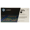 Cartouche de poudre d'encre noire LaserJet 507X de HP (CE400X)