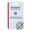 SAdapter Nano SIM Card to Micro SIM Card Adapter (SAdapter4FFTO3FFBLK)
