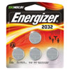 Energizer 240 mAh Watch /Specialty Lithium Battery 4-Pack (2032BP-4)