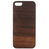 Affinity iPhone 5/5s Wood Hard Shell Case (ZIM536) - Brown